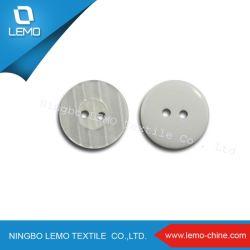 2 trou de la résine de polyester bouton en plastique