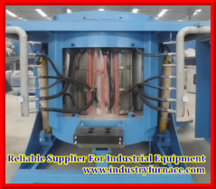 Iron/Stainless Steel/Copper/Aluminum Alloy Melting를 위한 Coreless Medium Frequency Electric Induction Furnace