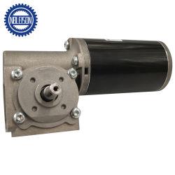 12V/24V/36V постоянного тока с высоким крутящим моментом червячная шестерня редуктора двигателя с кодера или тормоза