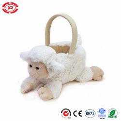 Cordero Canasta de Pascua a los niños pongan cosas lindas mejor juguete de regalo
