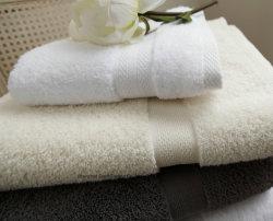 100% Ring Rpun Baumwollschaftmaschine-Rand-Hotel-Bad-Tuch
