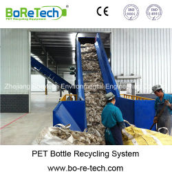Fibre Grade bouteille Pet laver la vaisselle et d'écrasement (TL Ligne 6000)