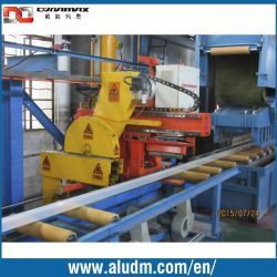 le petit double extracteur de machine en aluminium de l'extrusion 600t-1000t avec la précision ronde a vu