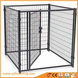Outdoor Lucky Dog le fil noir de pliage porte simple cage