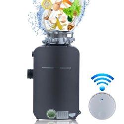 3/4CV menor ruido Cocina de eliminación de residuos de alimentos con el Control del interruptor de aire