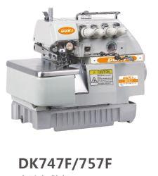 De super Naaimachine Dk747 van Overlock van de Hoge snelheid
