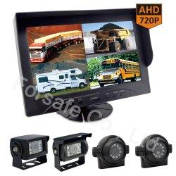 "Ahd 720p 9 "" 농장 트랙터 농업 장비 HD 강한 Anti-Interference를 위한 쿼드 전망 차 Rearview 사진기"