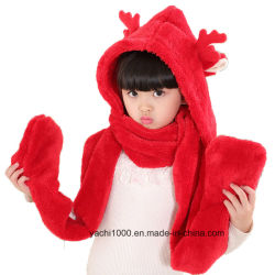 Les éléments personnalisés de gros Festival Foulard en peluche de Noël pour les enfants