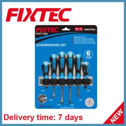 Les outils à main Fixtec 6PCS CRV Jeux de tournevis
