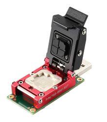 BGA153 HS400 Lecteur de carte Emmc, Emmc femelle de test, adaptateur de test Emmc, Contrôleur principal GL3327e, prennent en charge USB 3.0