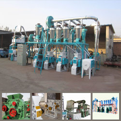 20t/24h de Machine van de Molen van het Tarwemeel om Griesmeel, de Bloem van de Bakkerij te produceren