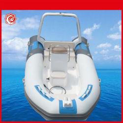 Costela 550 bote inflável de PVC novo barco costelas 17 pés com a roda