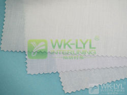 100% хлопок из тончайшего плавкая вставка Interlining Fabriclining для одежды