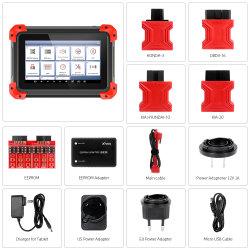 X100 der Auflage-OBD2 Rücksetzen-Entfernungsmesser Eeprom Aktualisierungsvorgang Selbstschlüsselprogrammierer-Diagnosehilfsmittel-Scanner-Automobildes codeleser-IMMO Epb DPF BMS online