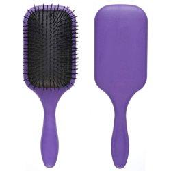 Grande spazzola professionale di Detangler dei capelli per gli uomini & le donne - i capelli di 9 righe che designano la spazzola professionale della pala di Detangle per a strati, capelli ricci & lunghi (colore viola)