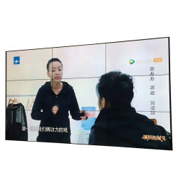 프로모션 터치 광고 LCD 디스플레이 비디오 벽면 연결 화면
