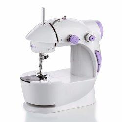 Mini macchina per cucire portatile della tessile del sarto elettrico dell'indumento per la famiglia