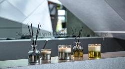 300 ml de lujo las velas perfumadas con Credo Aftershave perfumes cristal gris chapado