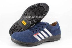 スエードの革および網布が付いている帯電防止偶然の安全靴