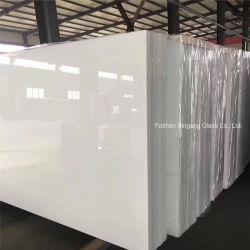RAL 9003 زجاج فائق النقاء مطلي باللون الأبيض فائق الجودة