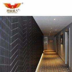 Hotel de lujo muebles de madera muro