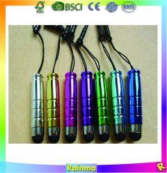 Mini Plastic pen met Touch Stylus voor promotiegebruik