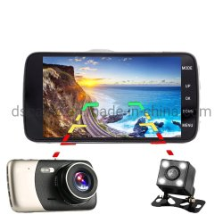 Full HD 1080P 4,0 дюйма видеозаписи камера Smart Car ПРИБОРНОЙ ПАНЕЛИ Car DVR видеокамеры
