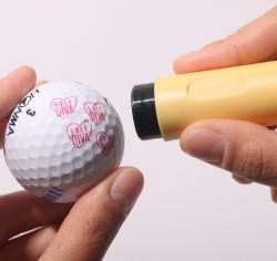 Пластиковый персонализированных марок с мячик для гольфа Гольф аксессуары