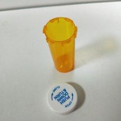 بلاستيكيّة الطبّ زجاجة طفلة غطاء مقاومة