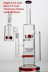 2020 Nuevo tubo de vidrio de color humo Agua Cristal juego de plataformas DAB ACCESORIOS FUMADOR con la ceniza Catcher