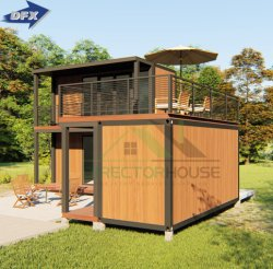 중국 전조식 이동식 컨테이너 하우스, 침실 3개 더 선호 가정용 휴대용 욕실 키트