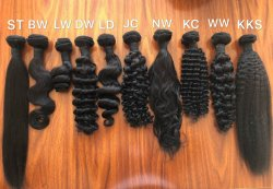 De hittebestendige Koreaanse Vezel Op hoge temperatuur krult Synthetisch Haar met de Groothandelsprijs van de Fabriek