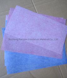 Compuesto de materiales aislantes de ranura eléctricos 6641 Clase F DMD laminado flexible del papel de aislamiento