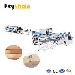 Festes Holz, das 2.5m-6m vertikale vollautomatische Finger-Verbindungs-Presse-Maschine Fj-150 bearbeitet
