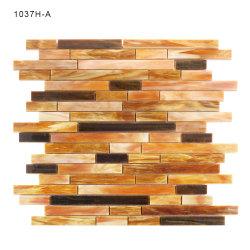 Mosaico materiale delle mattonelle di vetro macchiato di arte della costruzione per il pavimento della stanza da bagno
