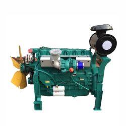최신 판매 새로운 상태 물은 중국에서 4개의 치기 발전기 사용 디젤 엔진을 냉각했다