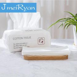 綿の使い捨て可能な表面タオル旅行清潔になるワイプの構成の綿パッドの顔のWashclothの美のスキンケアのペーパー圧縮されたタオル