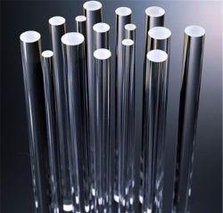 Quarzo fuso ottico trasparente Rod di vetro della radura a temperatura elevata di resistenza