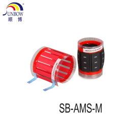 얇은 인쇄할 수 있는 열 수축가능 전화선 마커