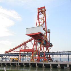 1200t/h de mineral de carbón y el tipo de agarre de descarga de buques