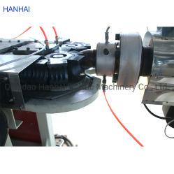 أنبوب كبير معزز للحلزون الكربوني PE/PP أحادي الجدار ماكينات إزالة أنبوب ملتوية من العيار