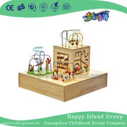 Elegante Juego de rebordeado de madera Juguete Educativo para Niños (HD-16905C)