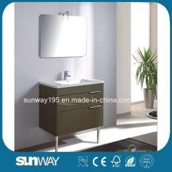 Governo di stanza da bagno diritto della lacca di stile di alta qualità del pavimento europeo dell'hotel