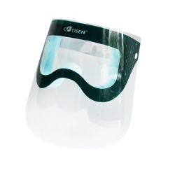 Zubehör-zahnmedizinisches buntes schützendes Anti-Fog Gesichts-Wegwerfschild