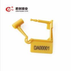Jcpl002 diferentes cores de anti-sabotagem as vedações de cadeado de segurança de bagagem numerados de fio de plástico as vedações de cadeado