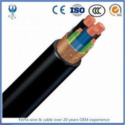 أغطية 600V 3c+3e PVC وشرائط الغلاف النحاسي VSD/EMC التي تم فحصها كابل