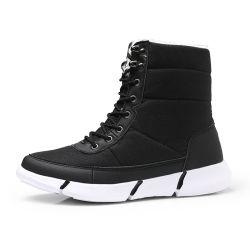 Laarzen de Van uitstekende kwaliteit van het Bont van de Dames en van de Vrouwen van Greenshoe, de Laarzen van de Vrouwen van de Winter van de Schoenen van de Enkel, Schoenen van de Laarzen van de Hiel van de Wig van Vrouwen de Zwarte