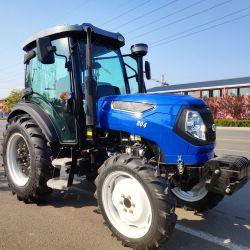 Mejor precio de fábrica de maquinaria agrícola de 4X4 80CV tractor agrícola
