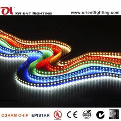 1210 3528 9.6W 120LEDs IP68는 24V 지구 빛 LED를 방수 처리한다