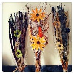 La décoration intérieure de fleurs séchées de la conception de matériel